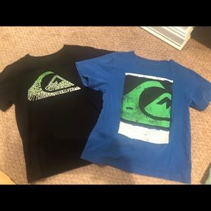 (2) Quicksilver Shirts